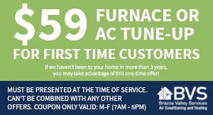 $59 Furnace or AC Tune-up
