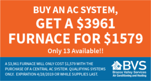 Get a $3961 furnace for $1579