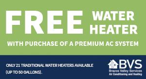 Free Water Heater